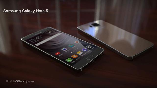 Samsung Galaxy Note 5 em Julho?