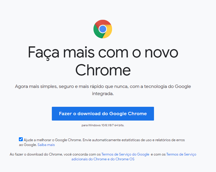 Google Chrome Standalone 64 bits